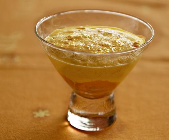 soufflé glacé aux mangues